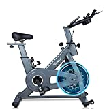 Vanku Bicicleta Estática con Volante de 6 kg, Bici de Spinning Magnético Controlado, Bici de...