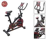 FFitness Bicicleta de spinning Fly Spin 6 con volante de 6 kg, bicicleta para entrenamiento...
