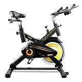 gridinlux. Trainer Alpine 7000. Bicicleta estática Spinning. Volante de Inercia 15 kg, Nivel...