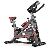 Bicicleta de Spinning Bicicleta Indoor de Volante de Inercia Ultra silencioso Aptitud Bici Y AB...