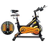gridinlux. Trainer Alpine 8500. Bicicleta estática Ciclo Indoor Spinning. Volante de Inercia 25 kg,...