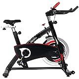 ONETWOFIT Bicicletas Estaticas, bicicleta estática con volante reforzado de 20KG y accionamiento...