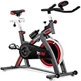 FITFIU Fitness BESP-300 Bicicleta Spinning BESP-24 Profesional Volante inercia Pantalla LCD, Unisex...