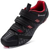 URDAR Zapatillas de Ciclismo Hombre Transpirable Bicicleta Calzado de Ciclismo Cómodo Zapatillas de...