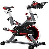 Fitfiu Fitness BESP-100 - Bicicleta indoor con disco de inercia de 16 kg y resistencia regulable,...