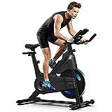 YOLEO Bicicleta estática para ciclismo de interior, Bicicleta de ejercicio de resistencia...