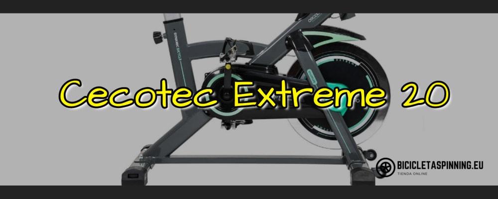bicicleta cecotec extreme 20