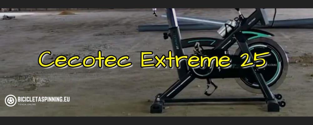 cecotec extreme 25 bicicleta spinning