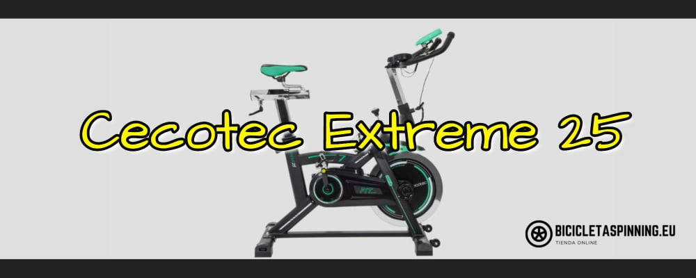 bicicleta cecotec extreme 25