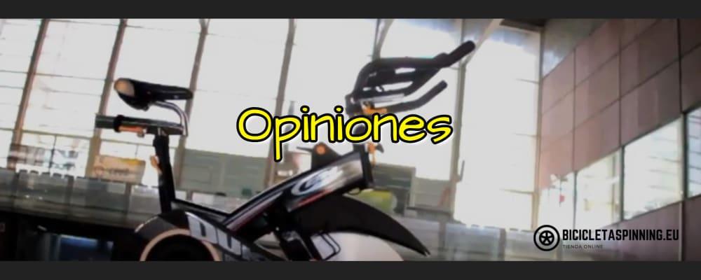 opiniones de las bicicletas spinning BH