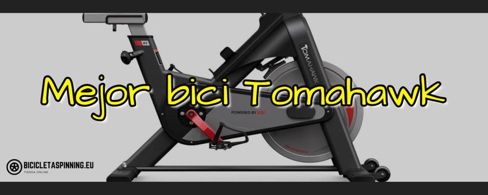 mejor bicicleta spinning tomahawk