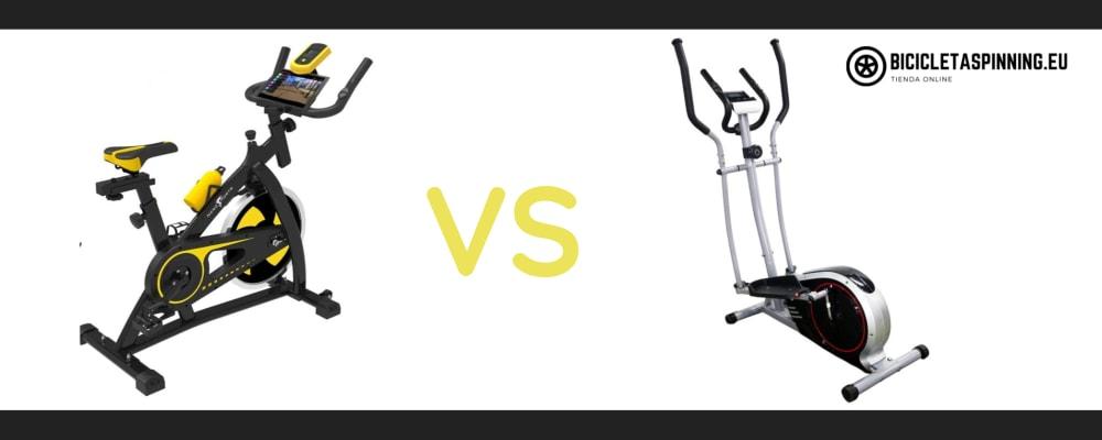 elegir bici spinning o elíptica